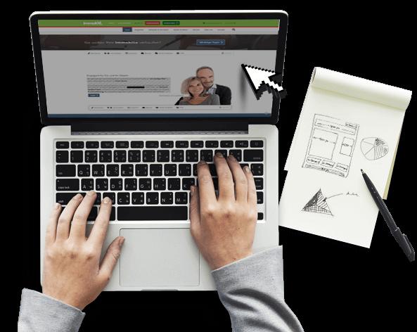 Immobilien Homepage - Webseiten für Immobilienmakler von immoXXL